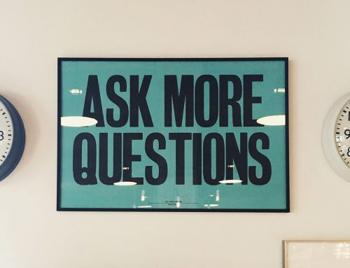 Ask good questions and get better answers